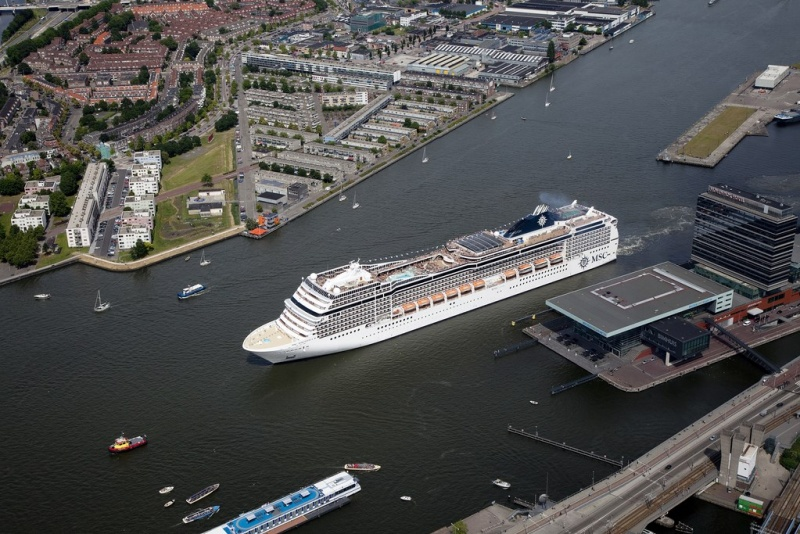MSC Magnifica Sails from Amsterdam