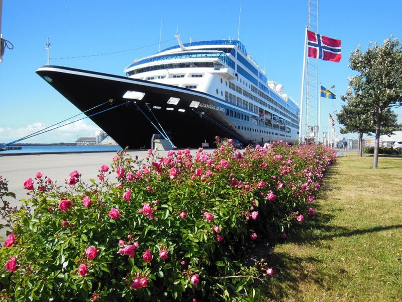 Azamara Journey in Roenne