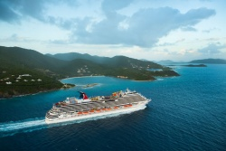 Carnival Breeze sails from Tortola