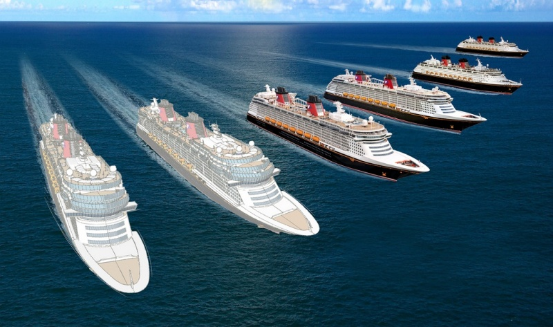 Disney Fleet Rendering