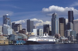 ms Amsterdam in Seattle