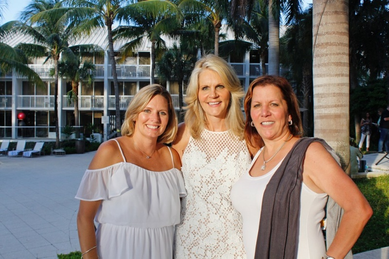 Cruise Planners executives at the inaugural Luxury Travel Forum August 8-10, 2017 in Ft. Lauderdale, Fla. (L to R): Theresa Scalzitti, VP of Sales and Marketing; Michelle Fee, CEO and Co-Founder; Vicky Garcia, COO and Co-Owner