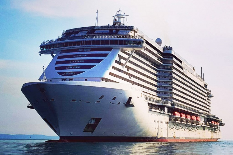 First Look: MSC Seaside Sea Trials - Cruise Industry News ...