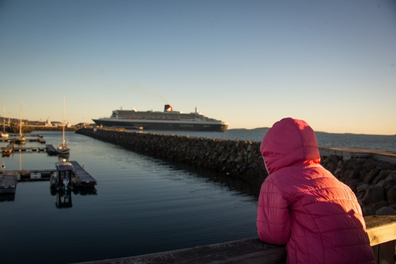 Sept-Îles rallied to accommodate the Queen Mary 2 on short notice.