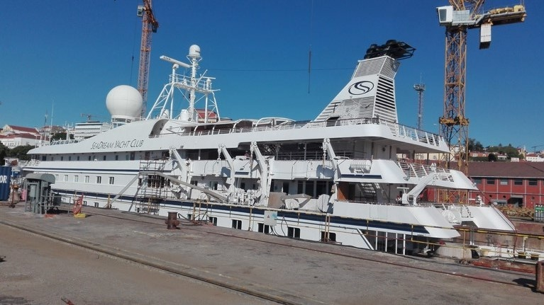 SeaDream II at Naval Rocha in Lisbon