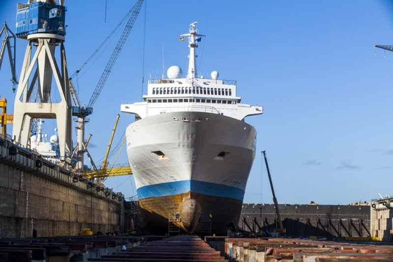 CCS oversees drydocks for a number of clients, including Marella Cruises.