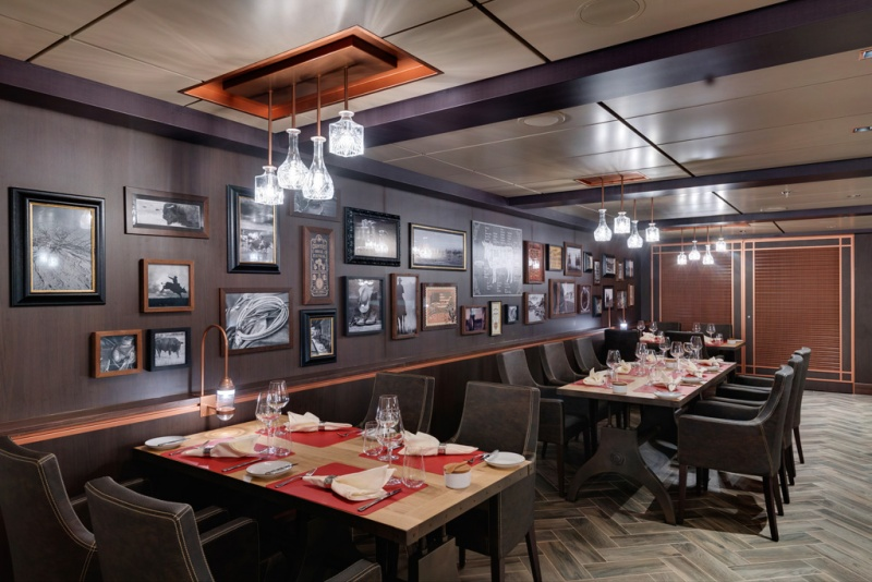 Butchers Cut Steakhouse Aboard the MSC Seaside
