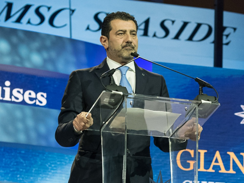 Gianni Onorato, CEO of MSC Cruises (photo: Ivan Sarfatti)