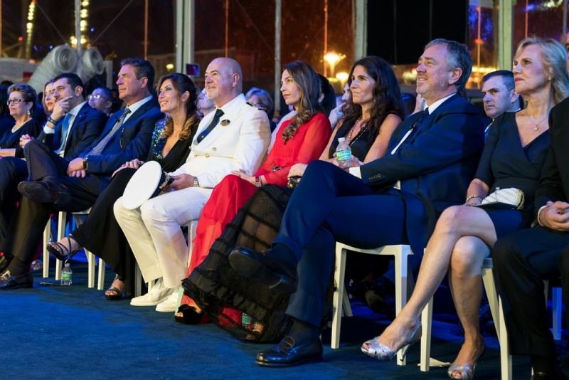 MSC Cruises Top Management and Select Guests Enjoy the Launch of New Vessel, MSC Seaside (photo: Ivan Sarfatti)