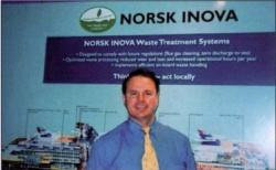 Charles Sciullo sales and service manager Norsk Inova
