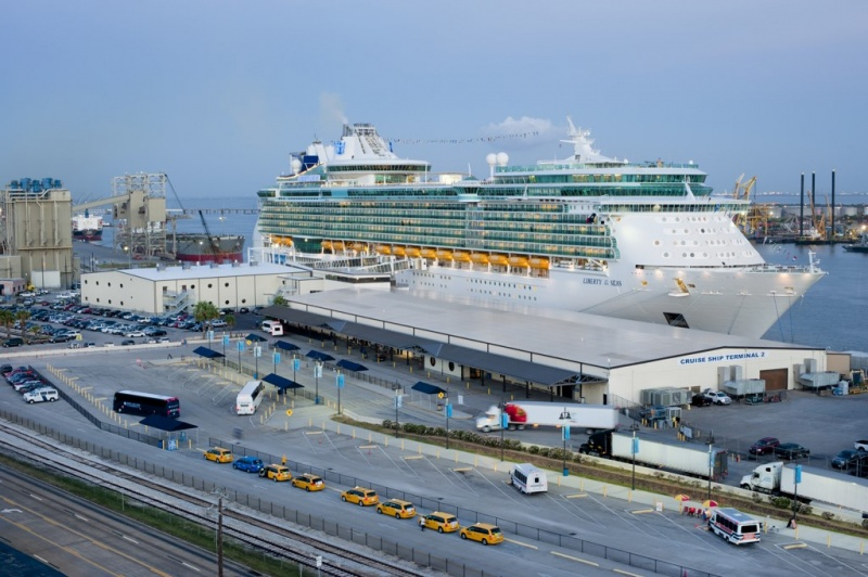 The Liberty of the Seas sails year-round from Galveston