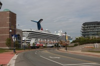 Carnival Glory in Saint John