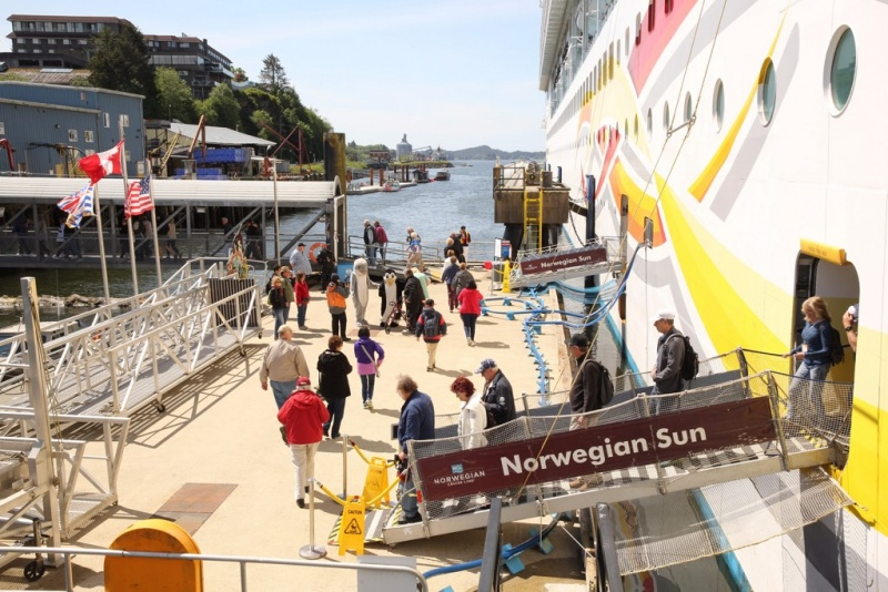 The Norwegian Sun in Prince Rupert
