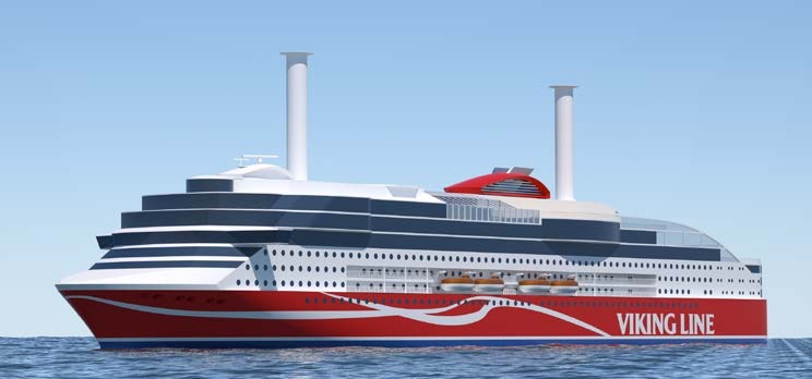 Viking Line New Ferry Rendering
