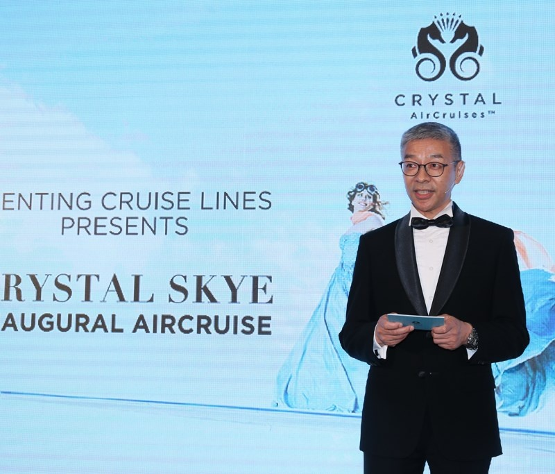 Mr. Kent Zhu, President of Genting Cruise Lines