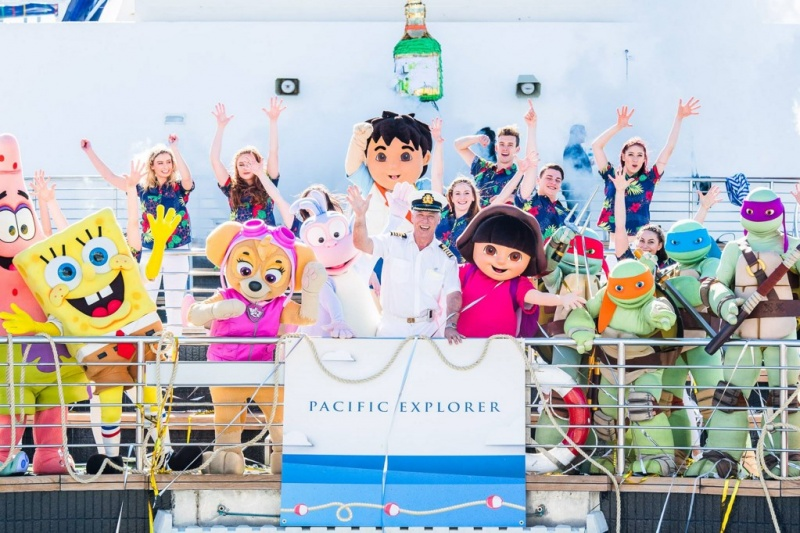 From the Pacific Explorer Christening