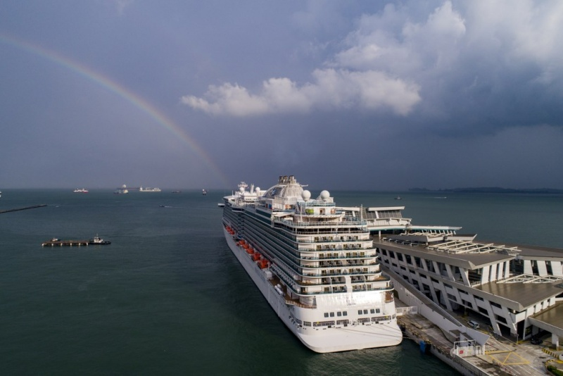 Majestic Princess in Singapore