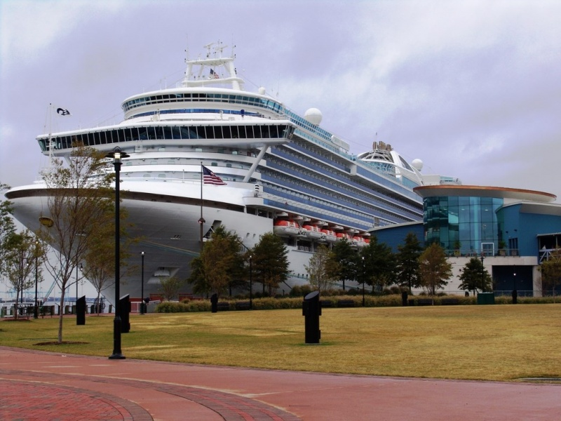 Crown Princess in Norfolk, VA