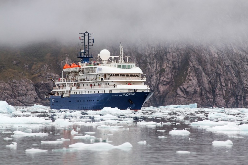 Sea Spirit in the ice