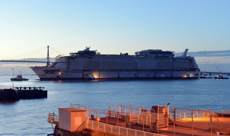 Symphony of the Seas at STX France