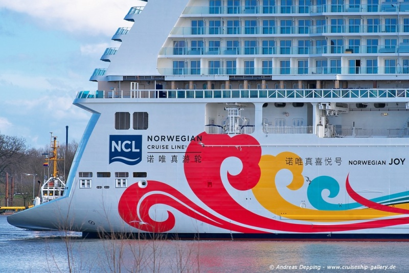 Norwegian Joy (photo: Andreas Depping)