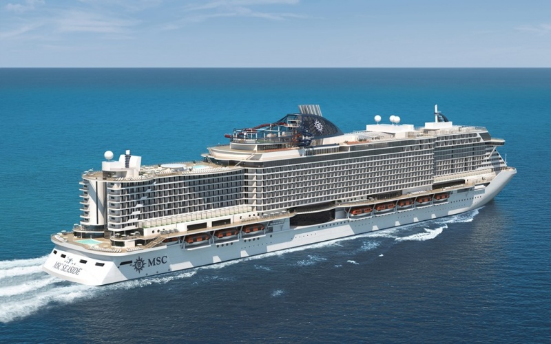 The MSC Seaside