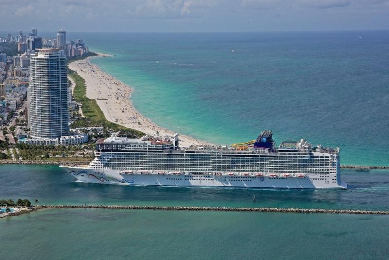 Norwegian Epic Arrives in Miami