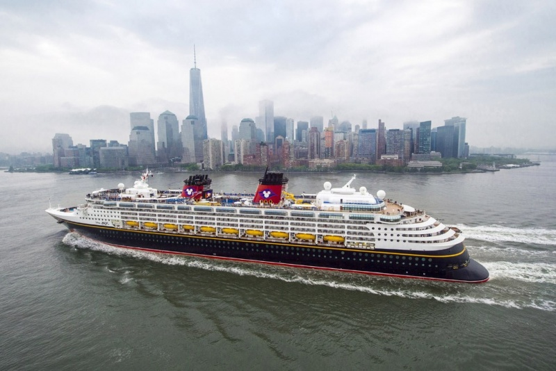 Disney Magic Sails into New York