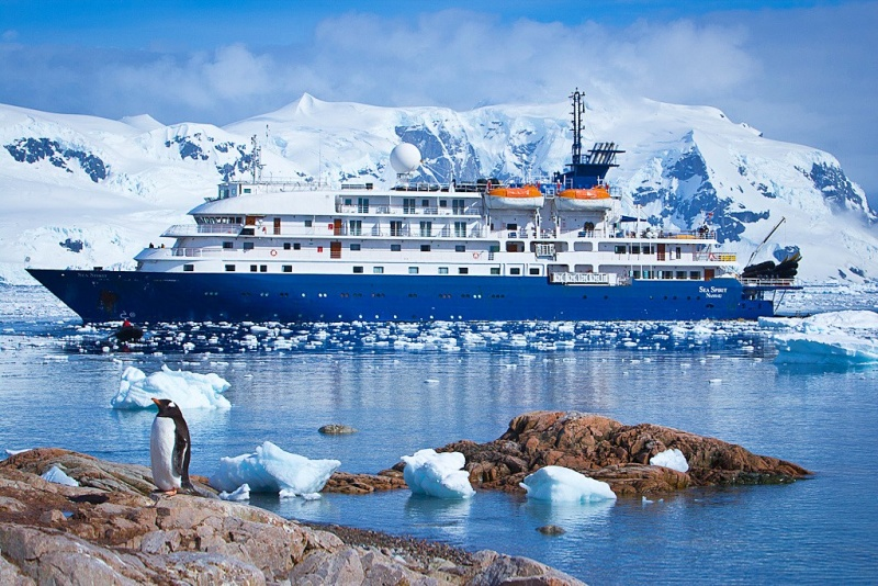 Sea Spirit in Antarctica