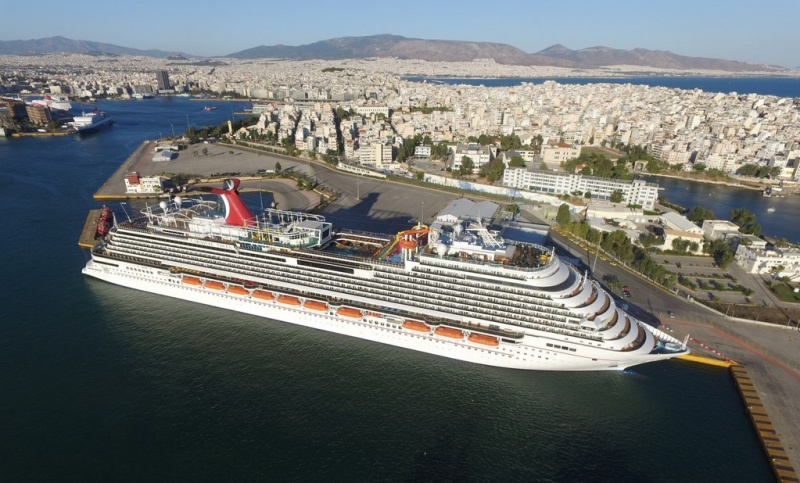 Carnival Vista in Athens