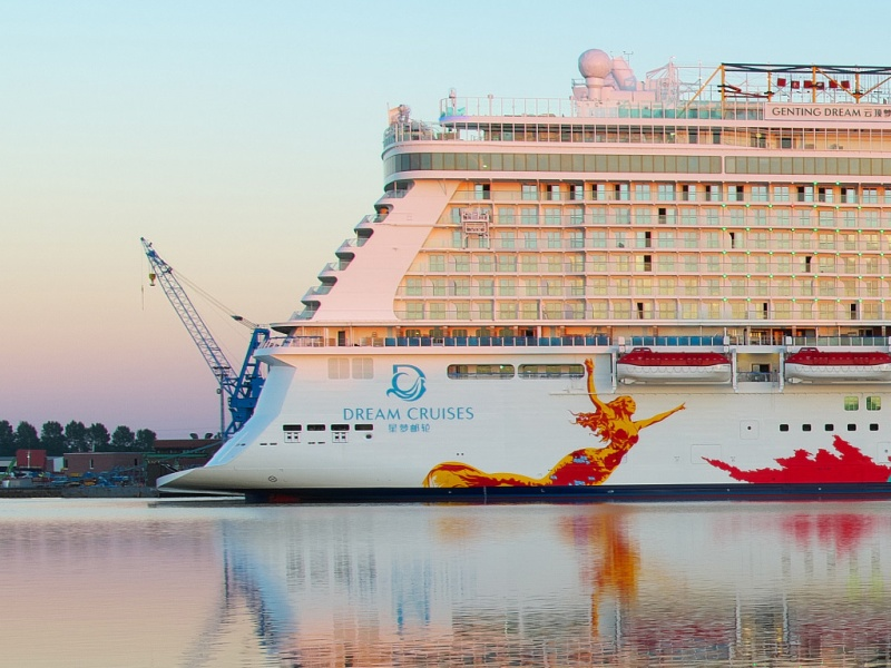 The Genting Dream (photo: Andreas Depping)