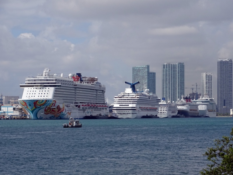 Norwegian Getaway at the Port of Miami