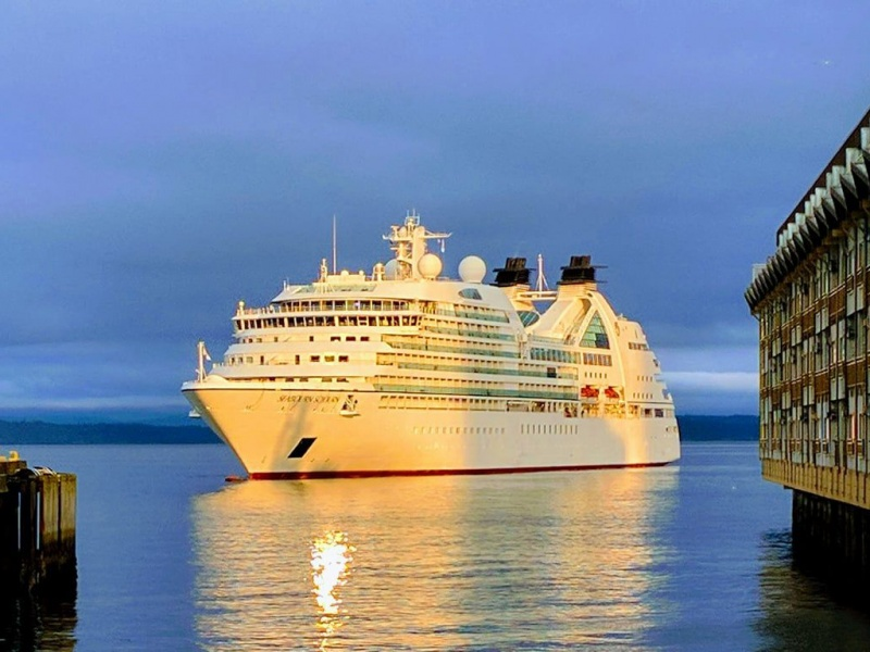 Seabourn Sojourn in Seattle