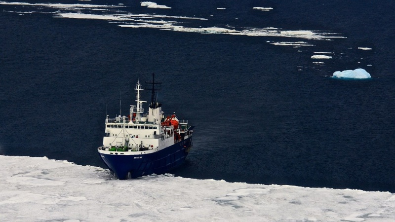 Oceanwide Ship in the Ice