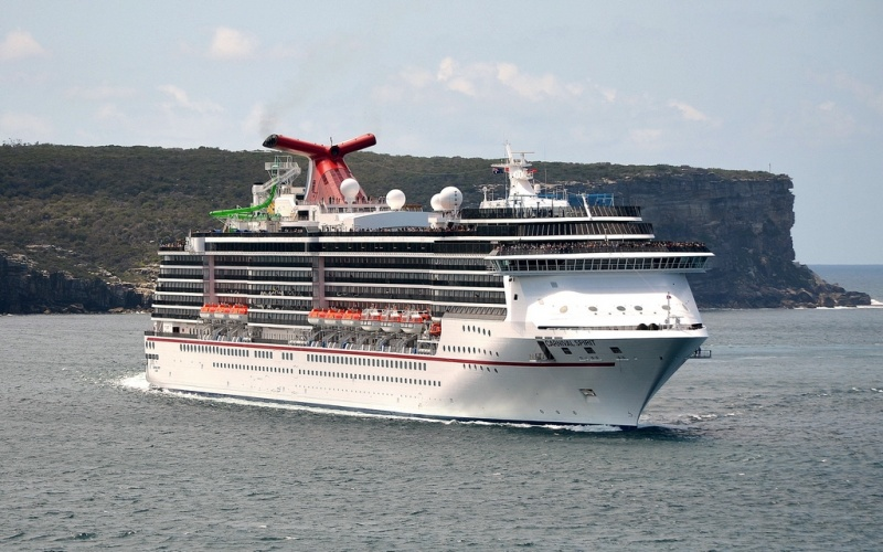 The Carnival Spirit is based year-round in Australia (photo: Clyde Dickens)