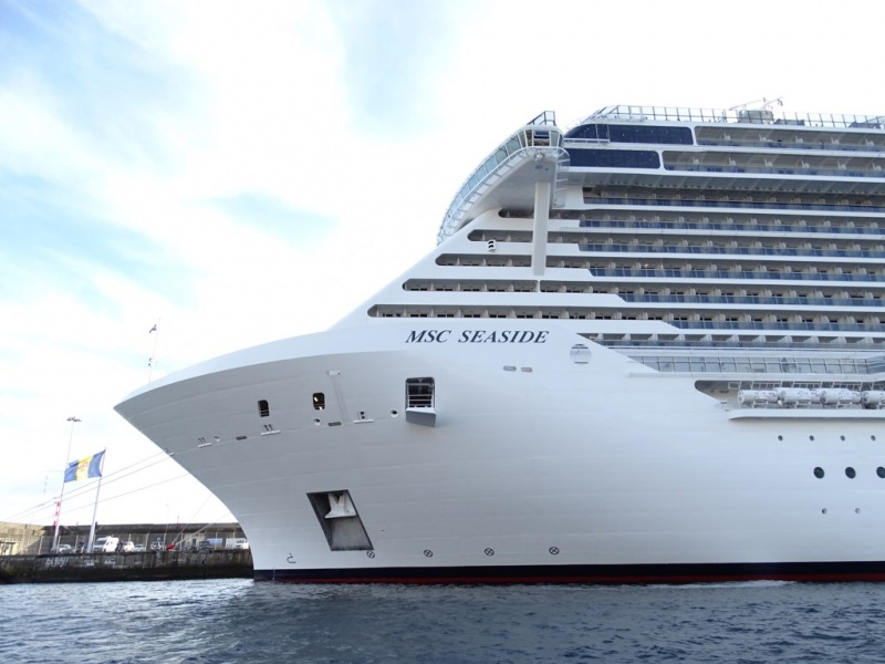MSC Seaside in Funchal (Photo: Sergio Ferreira)