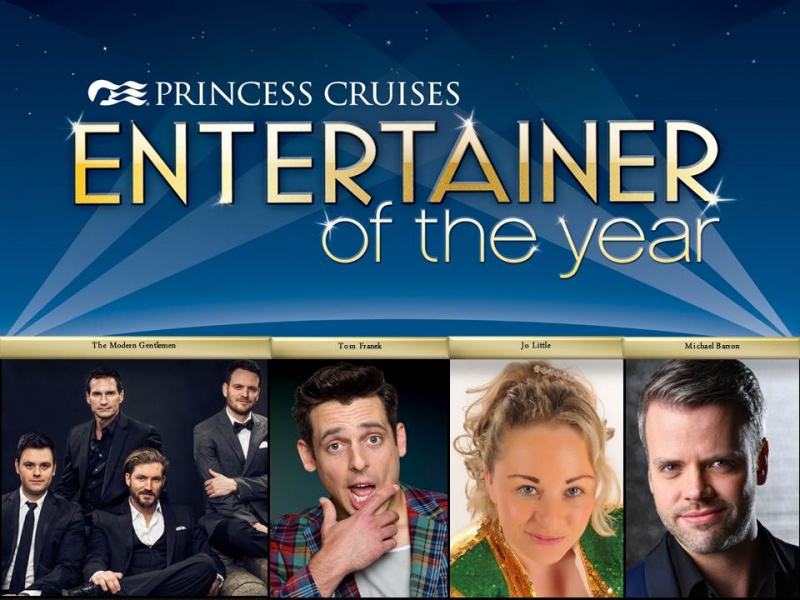 Finalists for Princess Entertainer of the Year