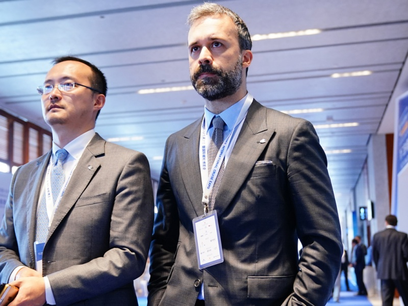 Mario Zanetti (right), President, Carnival China