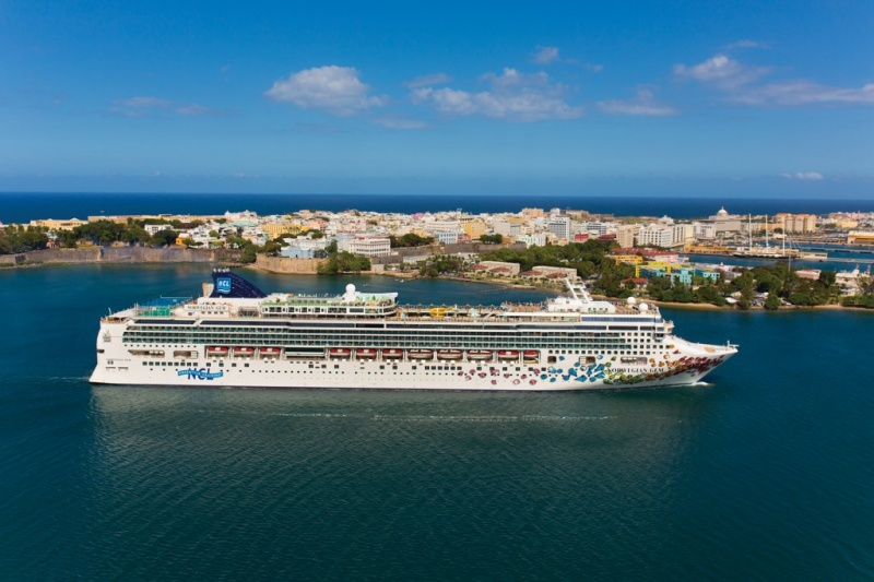 Norwegian Gem Aerial