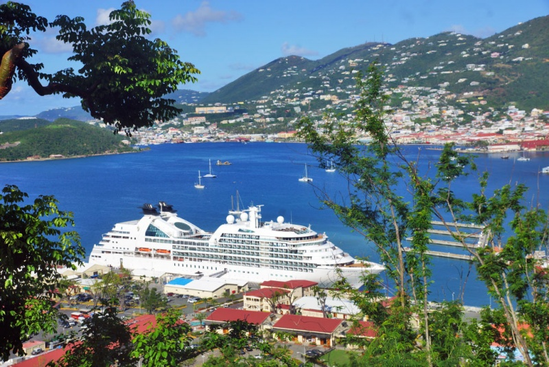 Seabourn was back in St. Thomas on Nov. 3