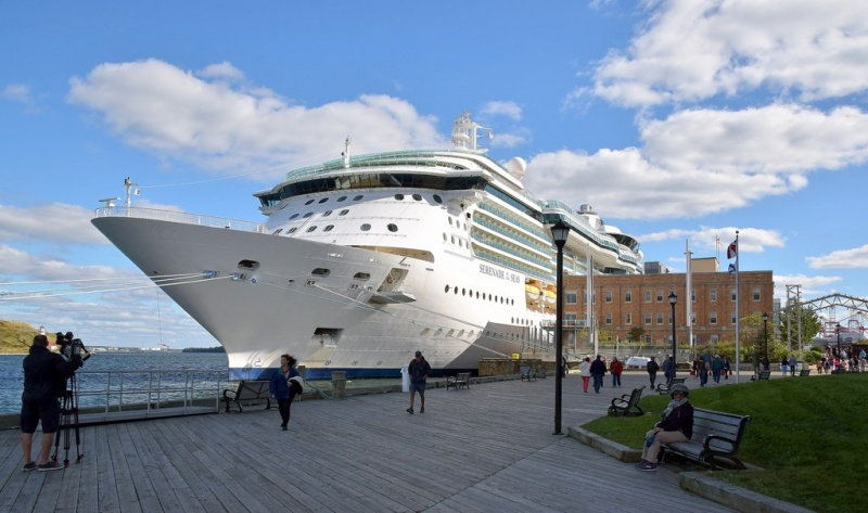 Serenade of the Seas in Halifax
