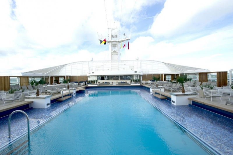 Serenity Pool Area on Britannia
