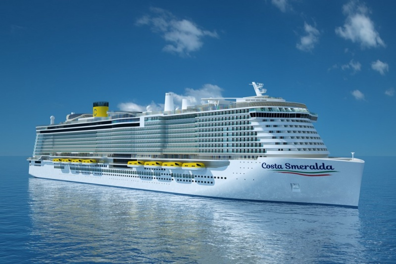 New Costa Ship Rendering