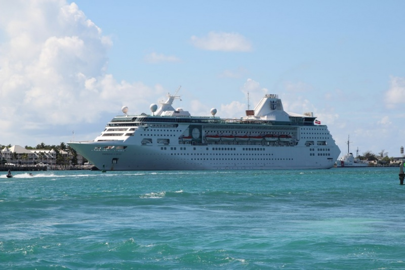 Empress of the Seas in Key West