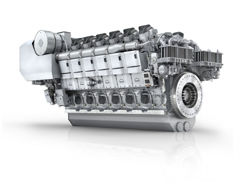 MAN Diesel & Turbo Reveals New 45/60 CR Best in Class Engine Family