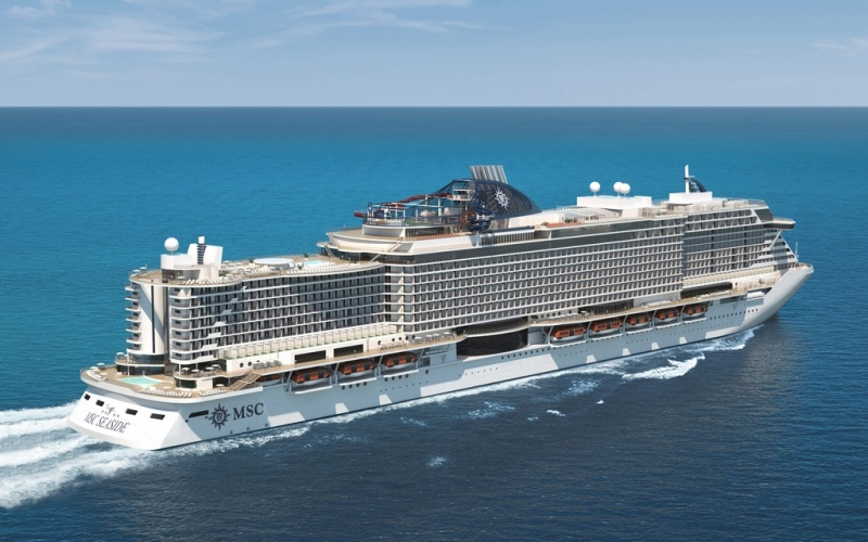 MSC Seaside is the sister ship to the MSC Seaview, which will sail in South America next winter.