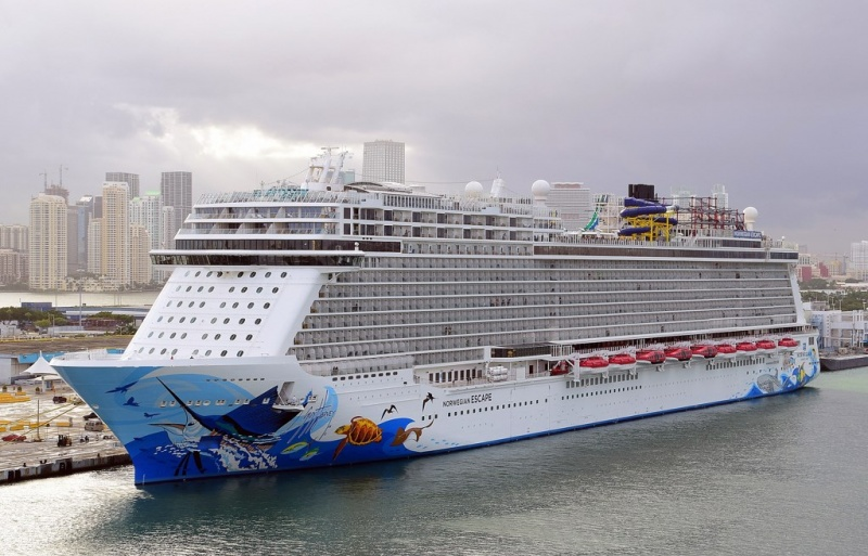 Norwegian Escape in Miami