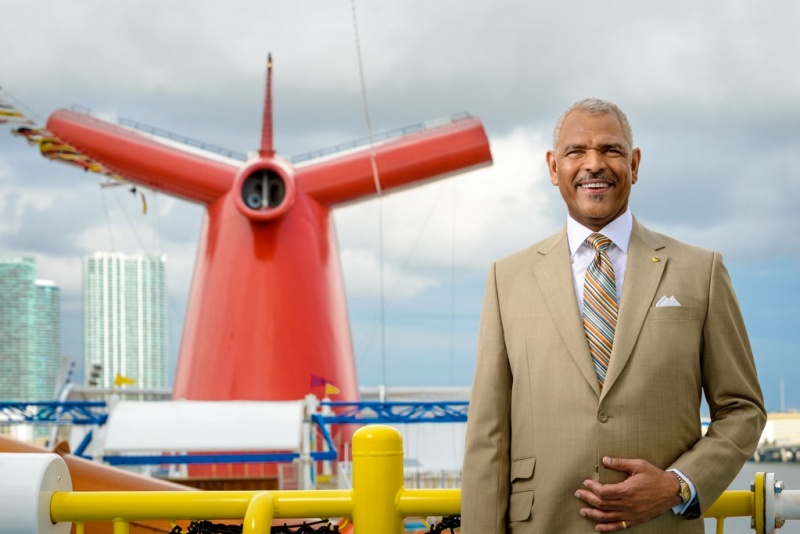 Arnold Donald, president and CEO, Carnival Corporation