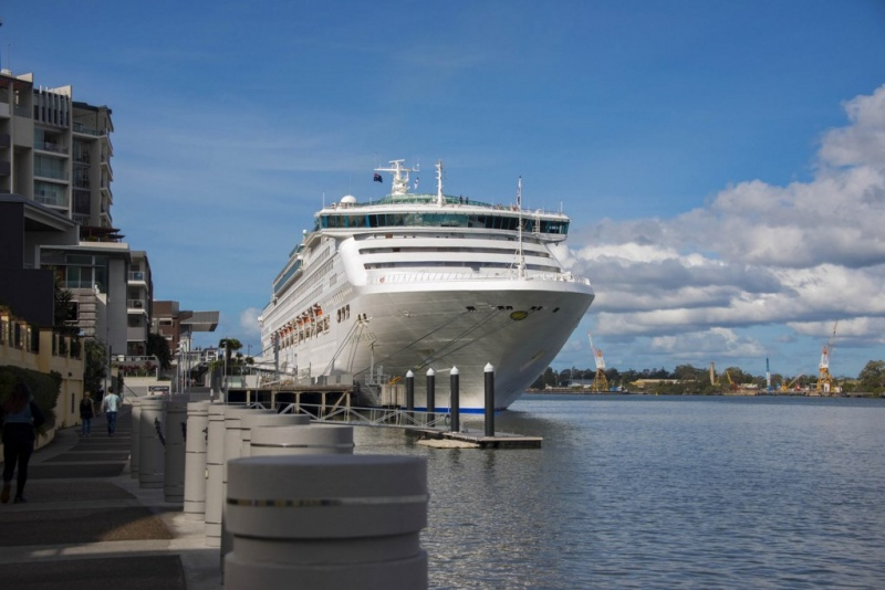 Sea Princess in Brisbane