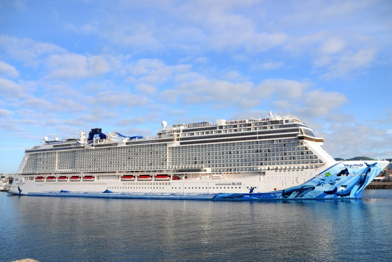 Photos Norwegian Bliss Arrives In Azores Cruise Industry News Cruise News